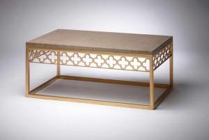 Quatrefoil Coffee Table