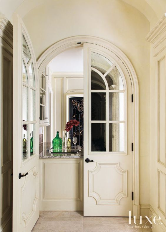 Arched Doors - Do you know your design style by Michelle Reid at Designer Girl Interiors.com