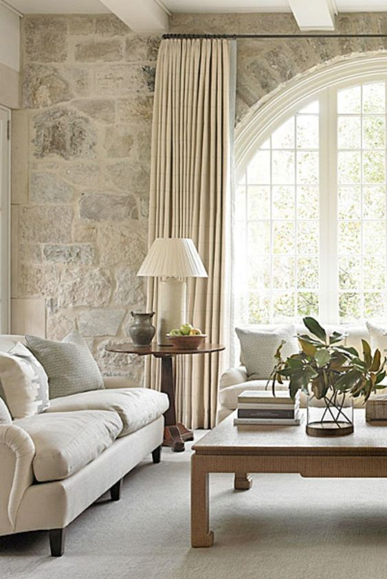 Brick Arched Window - What is soft design style by Michelle Reid at Designer Girl Interiors.com