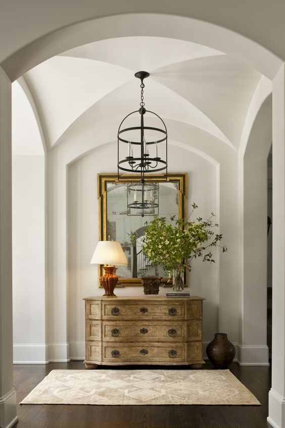 Arched Plasterwork - What is soft design style by Michelle Reid at Designer Girl Interiors.com