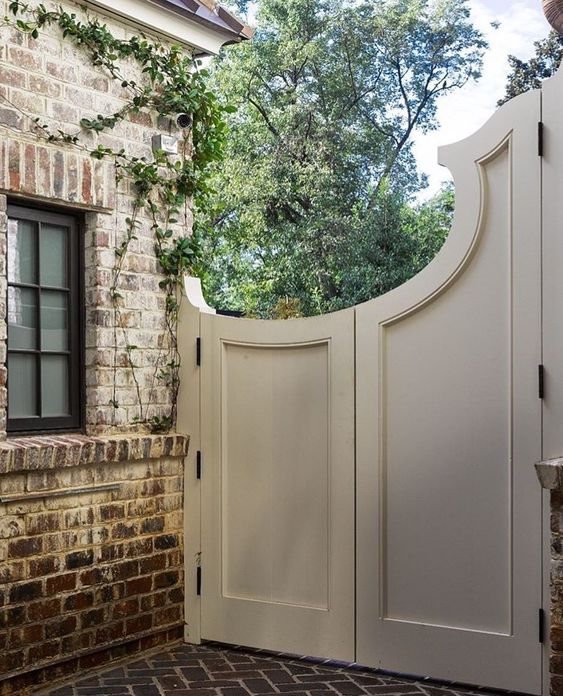 Arched Garden Gate - Do you know your design style by Michelle Reid at Designer Girl Interiors.com