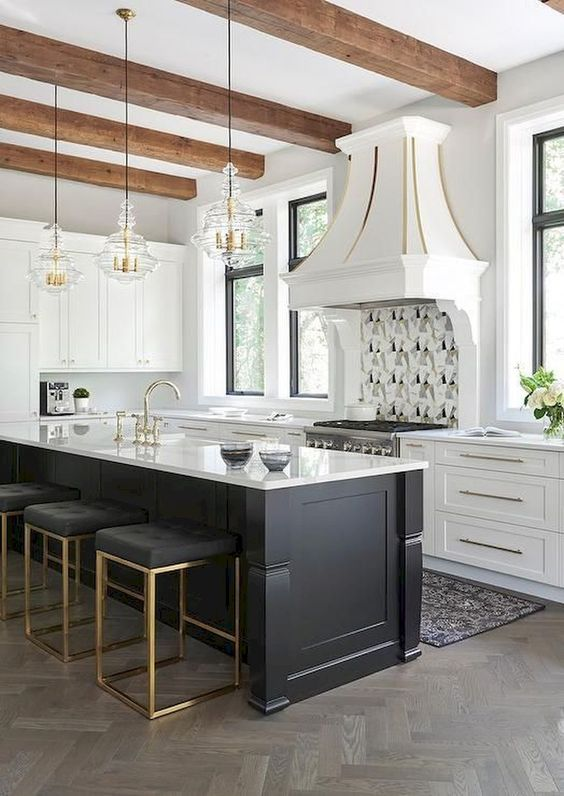 Backless counter stools - How to choose the best counter stools by Michelle Reid at Designer Girl Interiors.com