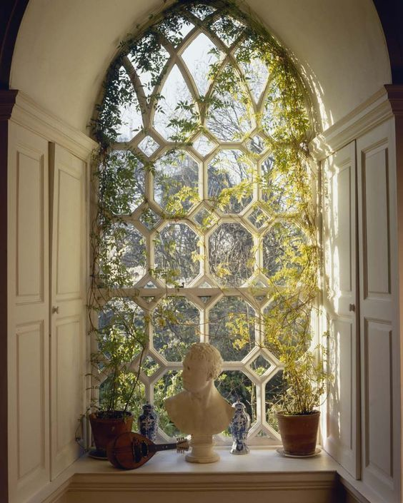 Arched Window - What is soft design style by Michelle Reid at Designer Girl Interiors.com